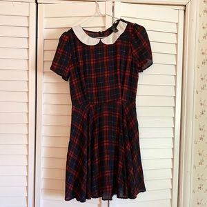 Forever 21 Plaid Dress Size Small